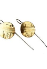 Satomi Studio Flatdisk Drop Earrings