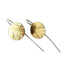 Satomi Studio Flatdisk Drop Earrings