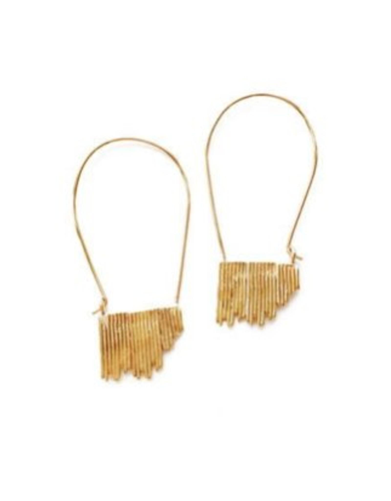 Satomi Studio Wilder Hoop Earrings