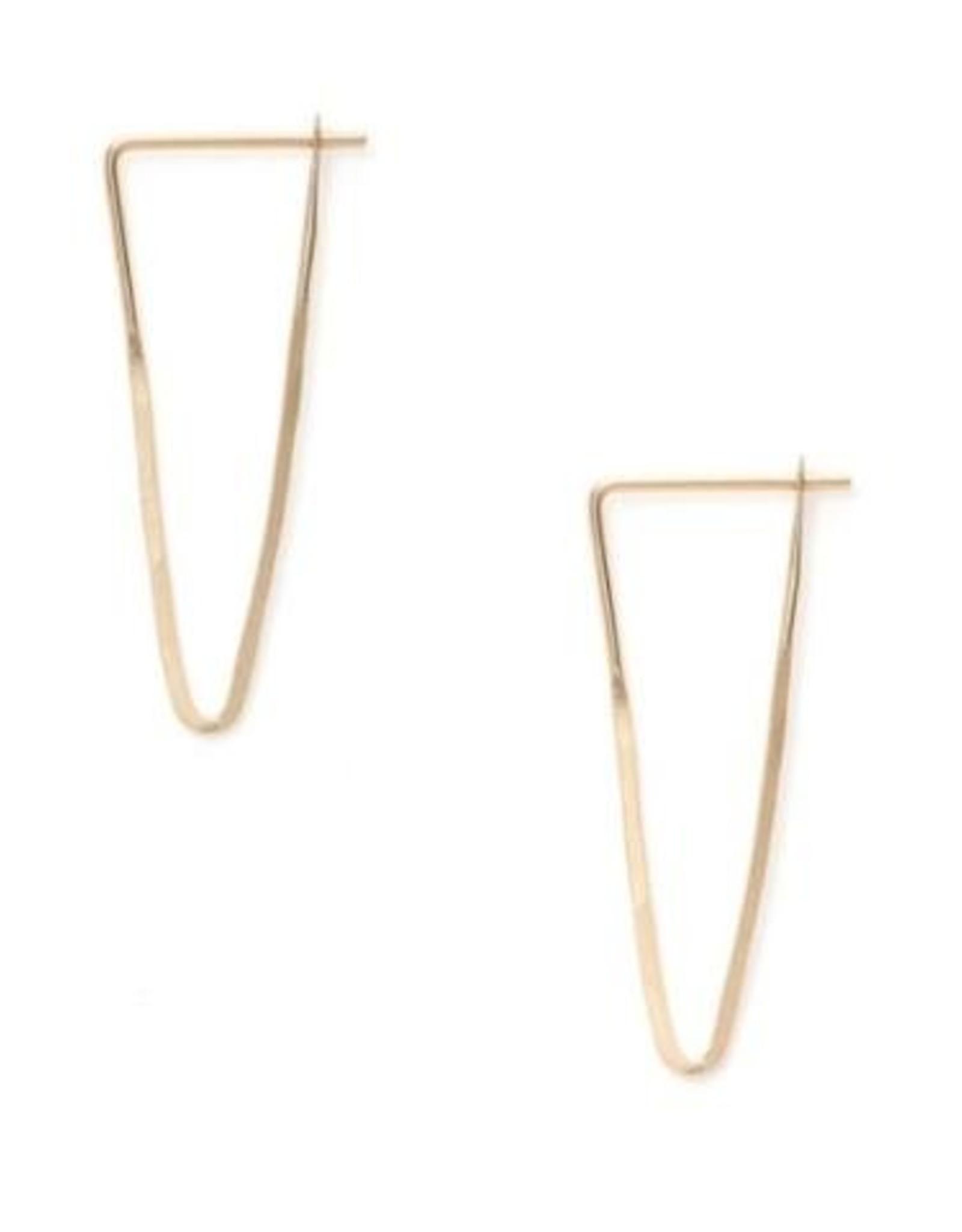 Satomi Studio Peak Hoop Earring - Small