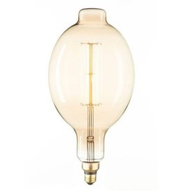 Extra Large Vintage Industrial Bulb - Lines