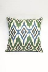 Tasdemir Rugs Ikat Silk Double-Sided Pillow - Square