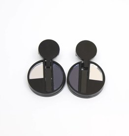 Finn Pearl Earrings - Mirror