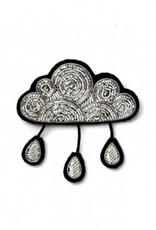 Macon & Lesquoy 'Raindrop Cloud' Pin