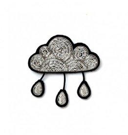 Macon & Lesquoy Raindrop Cloud Pin