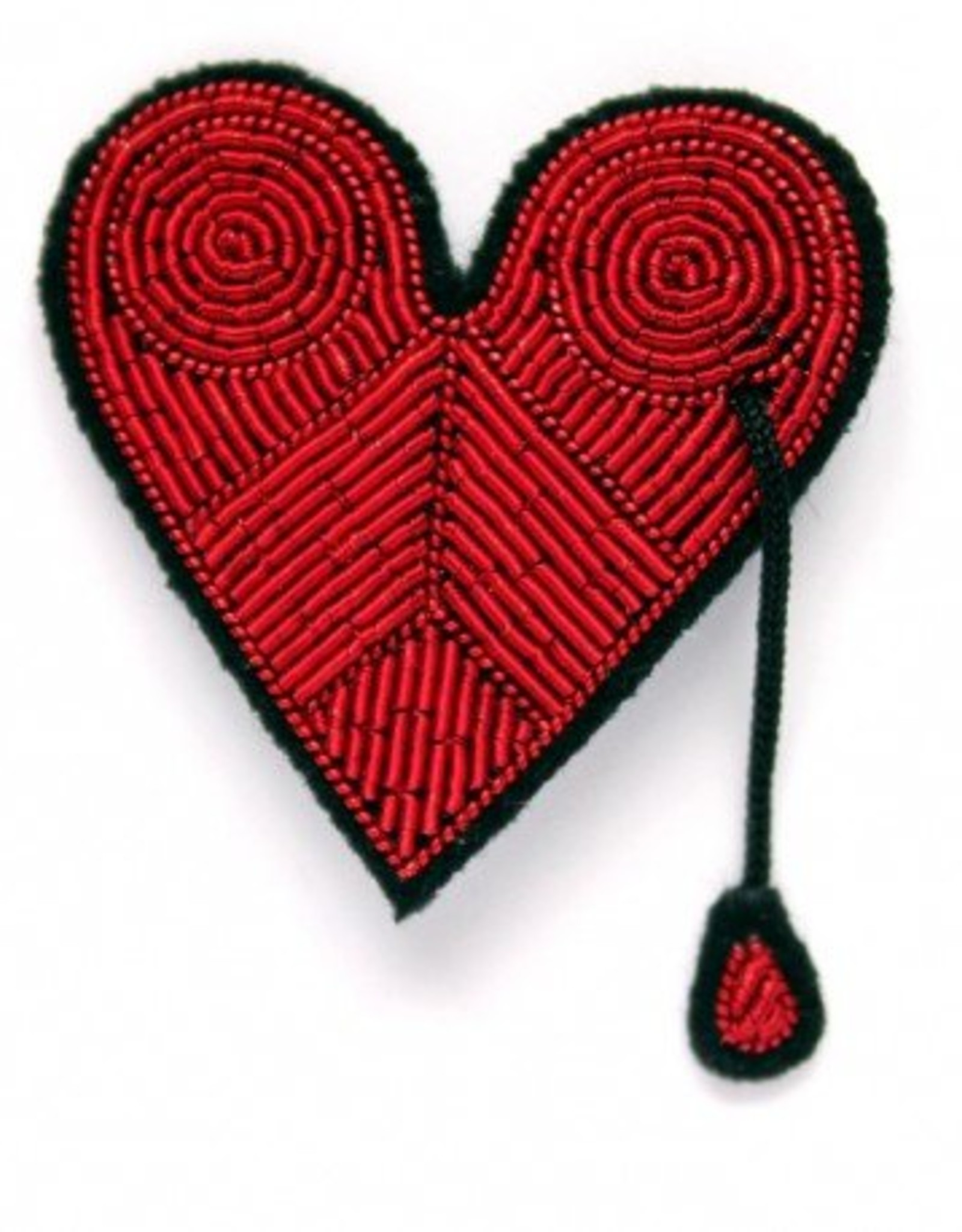 Macon & Lesquoy 'Injured Heart' Pin