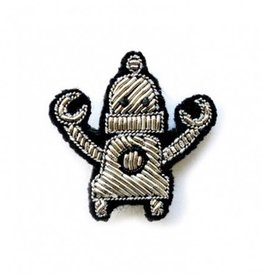 Macon & Lesquoy 'Robot' Pin