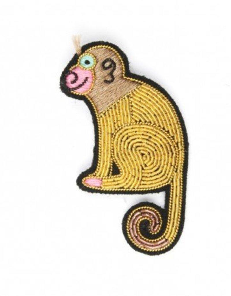 Macon & Lesquoy Monkey Pin