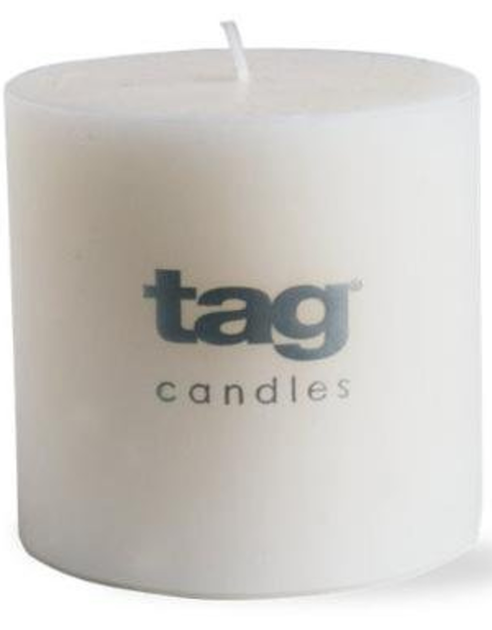 "White Chapel Pillar Candle - 3""x3"""