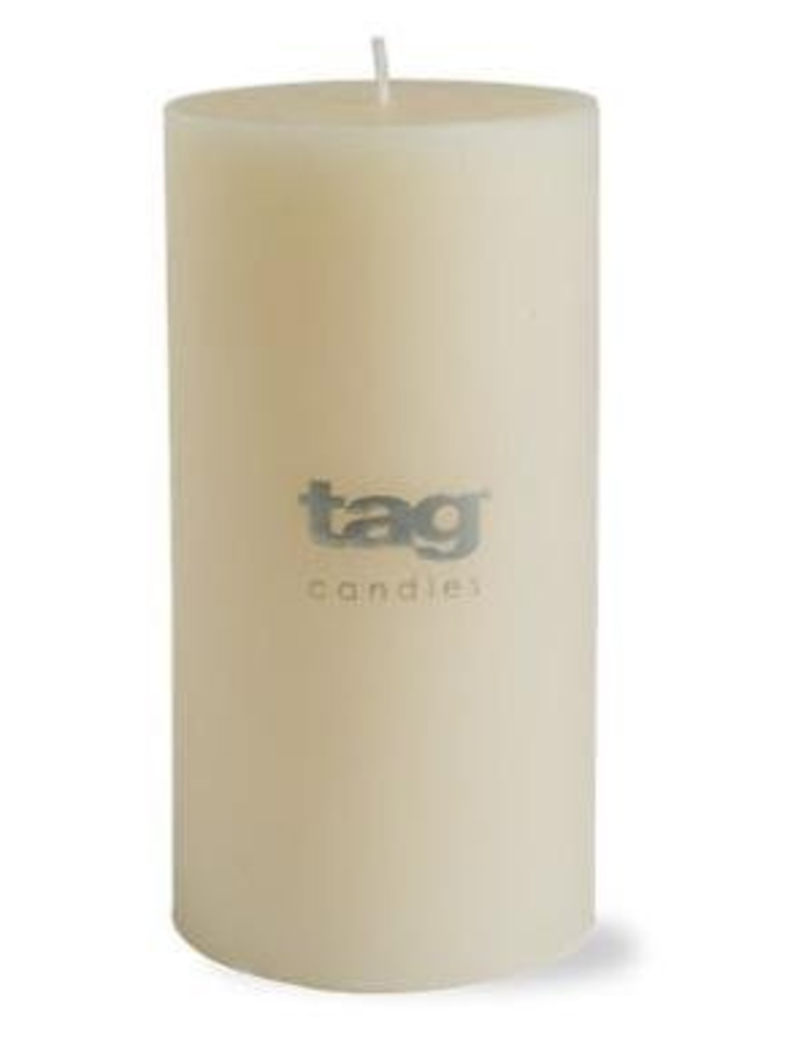 "Ivory Chapel Pillar Candle - 3""x6"""
