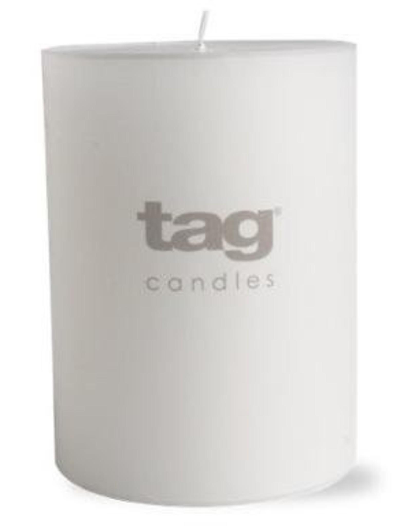 "White Chapel Pillar Candle - 3""x4"""