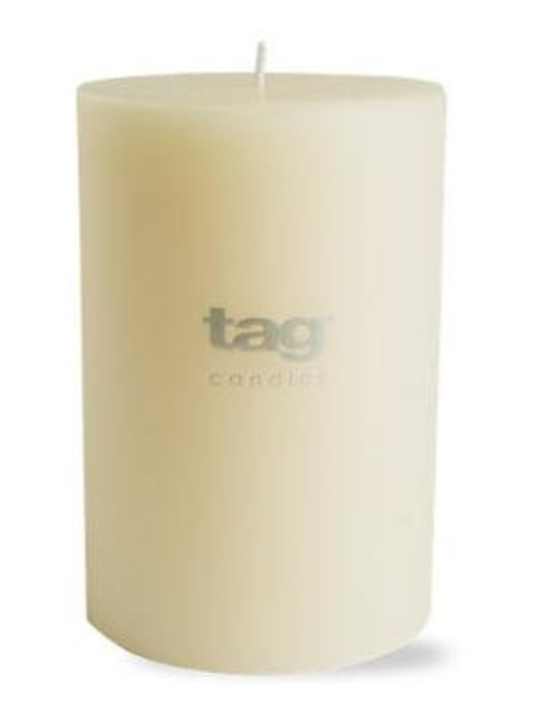 "Ivory Chapel Pillar Candle - 4""x6"""
