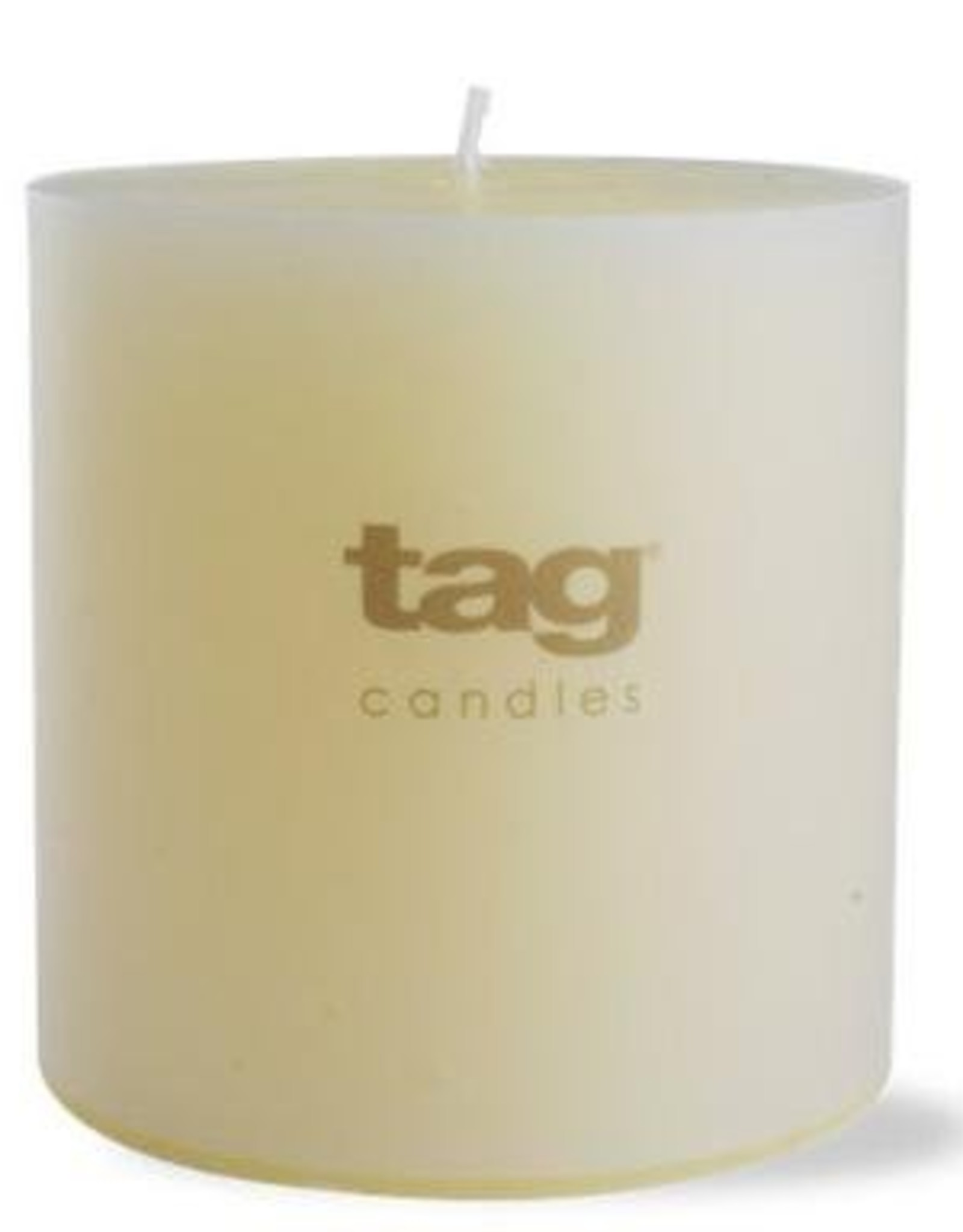 "Ivory Chapel Pillar Candle - 4""x4"""