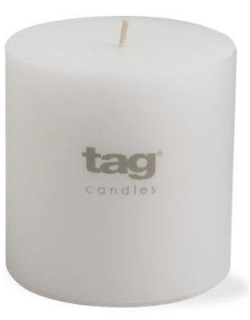 "White Chapel Pillar Candle - 4""x4"""