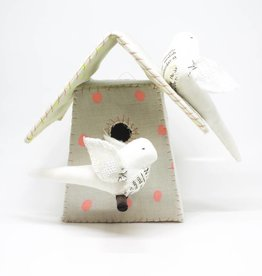Tamar Mogendorff Medium Bird House - Polka Dot