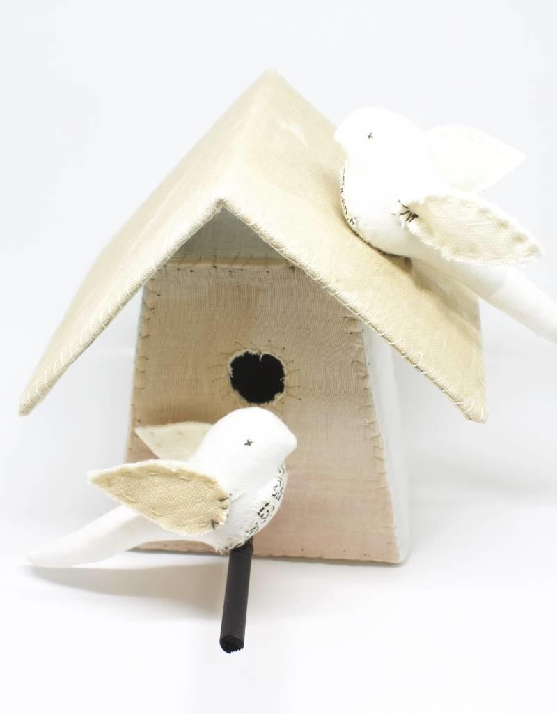 Tamar Mogendorff Medium Bird House - Tea Dye