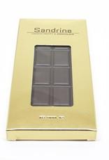Sandrine Sandrine's Dark Chocolate with Espresso Coffee Beans Bar