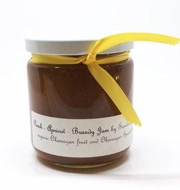 Sandrine Peach Apricot Brandy Jam
