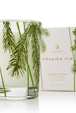 Thymes Frasier Fir Votive Candle - Pine Needle