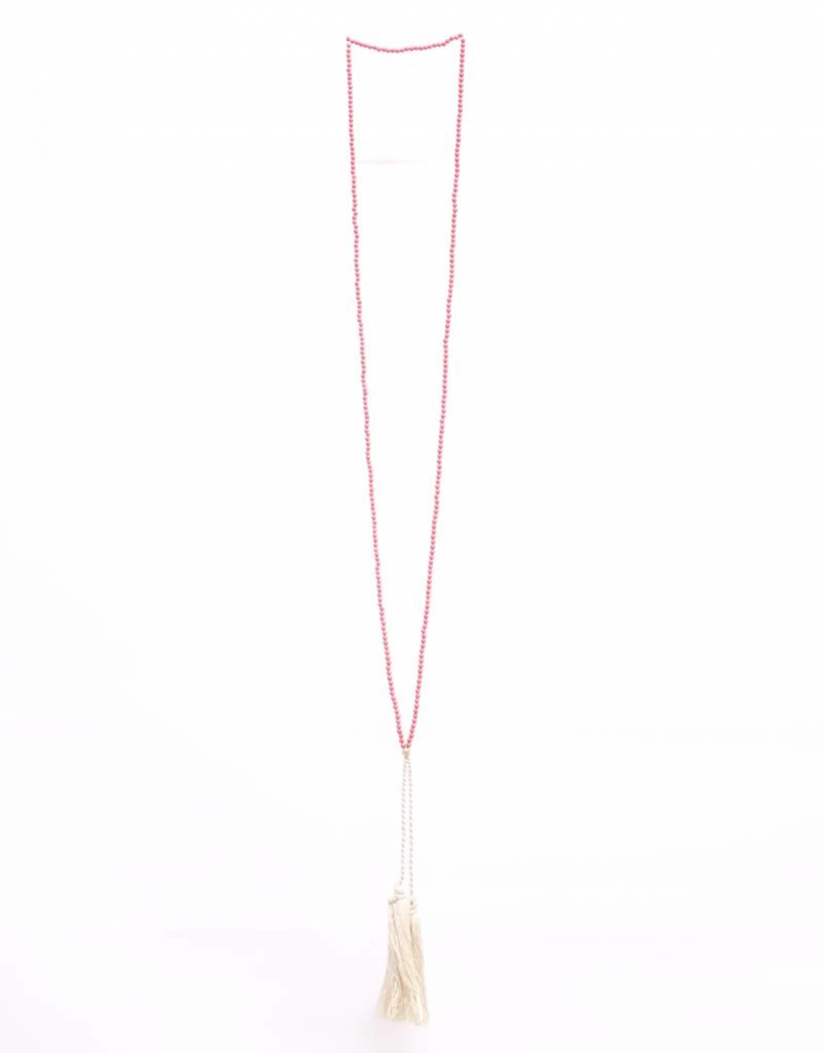Pebbles Necklace - Coral