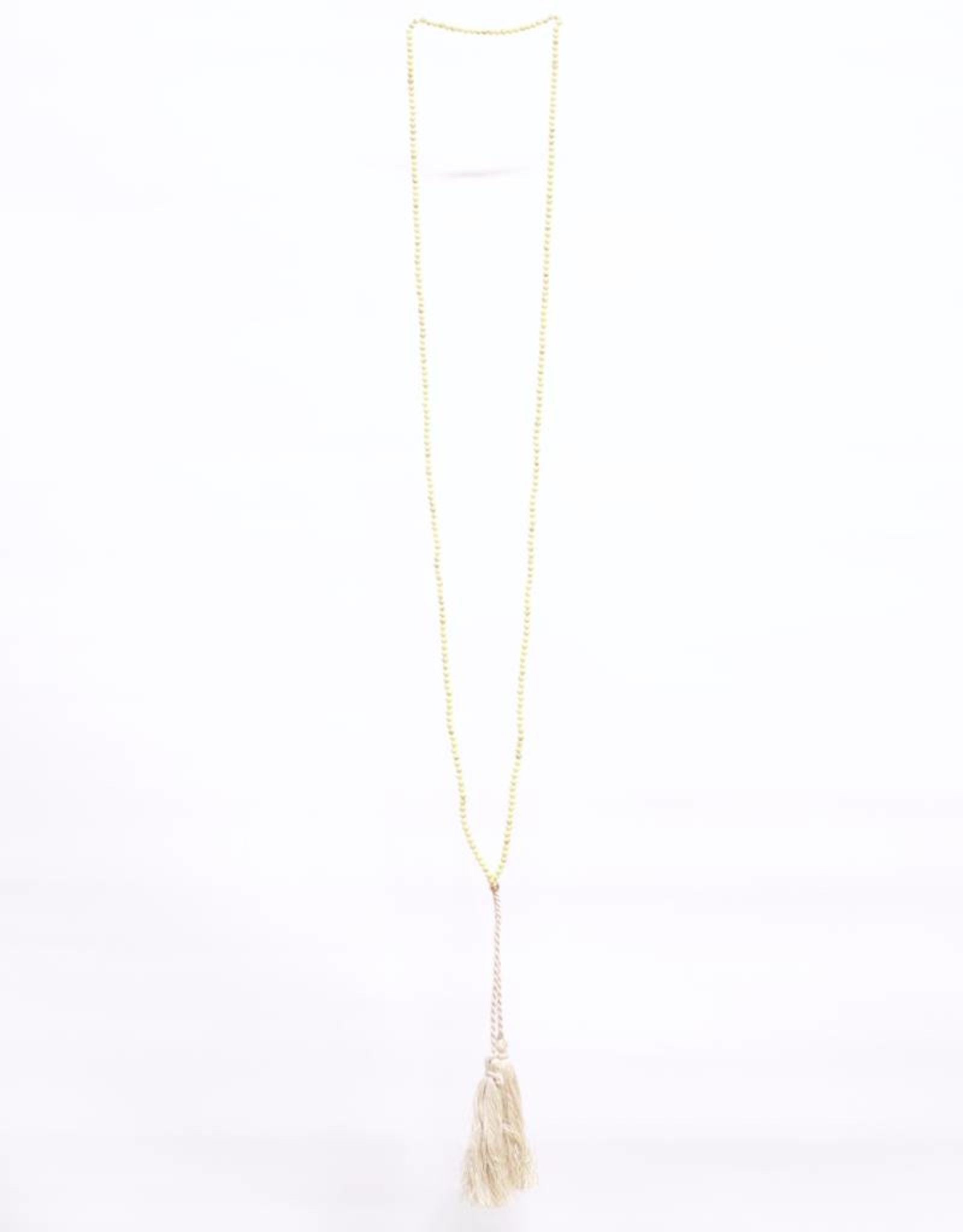 Pebbles Necklace - Chartreuse