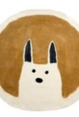 Curious Rabbit Felted Mat