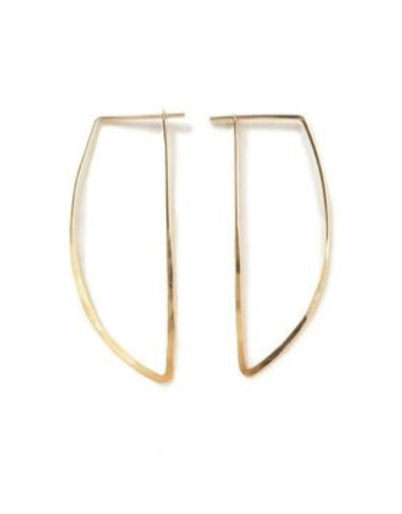 Satomi Studio Cone Peak Earrings - Small