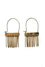 Satomi Studio Spine Hoop Earrings