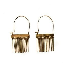Satomi Studio Spine Hoop Earrings