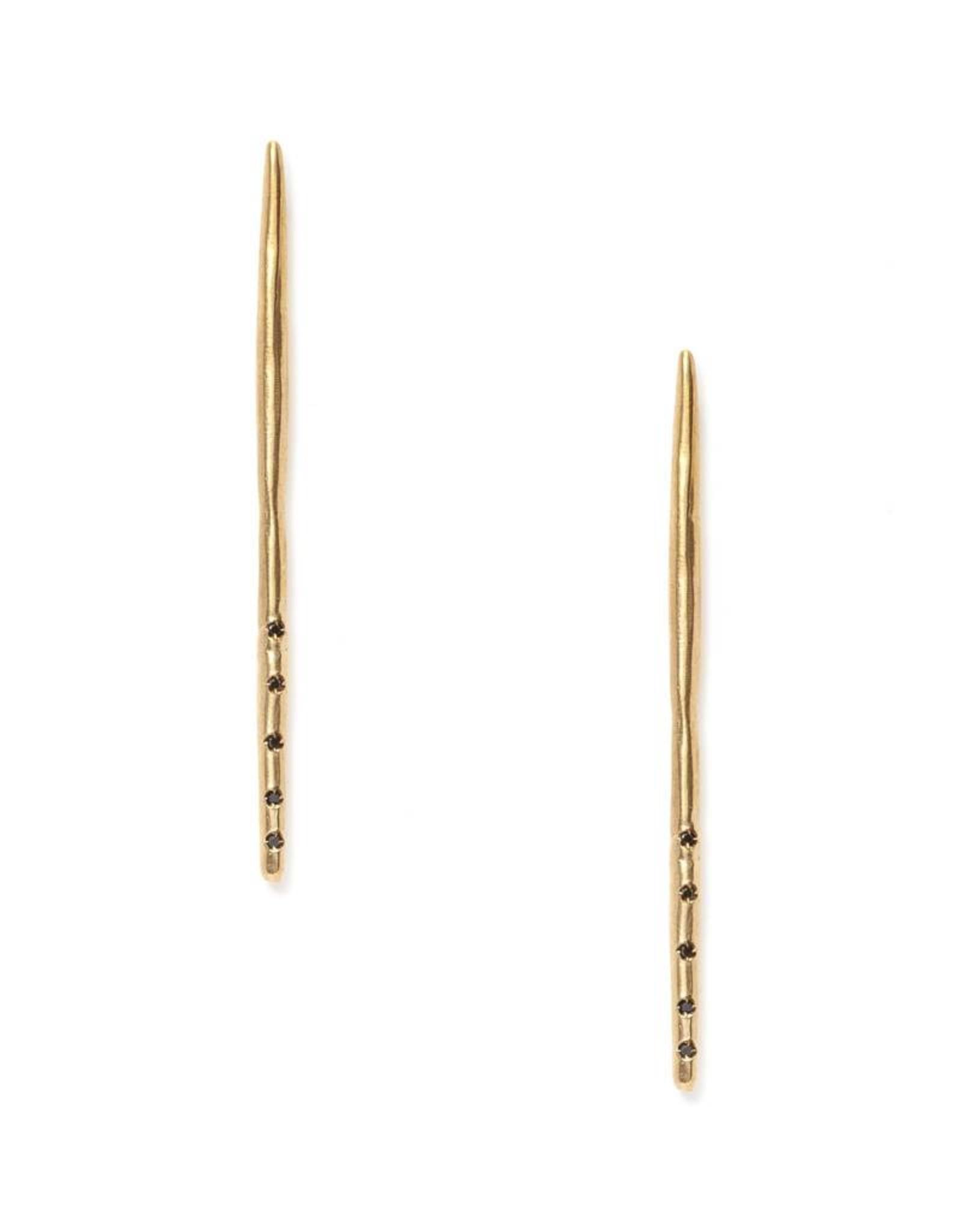 Satomi Studio Needle Post Earrings