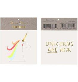 Meri Meri Unicorn Tattoos