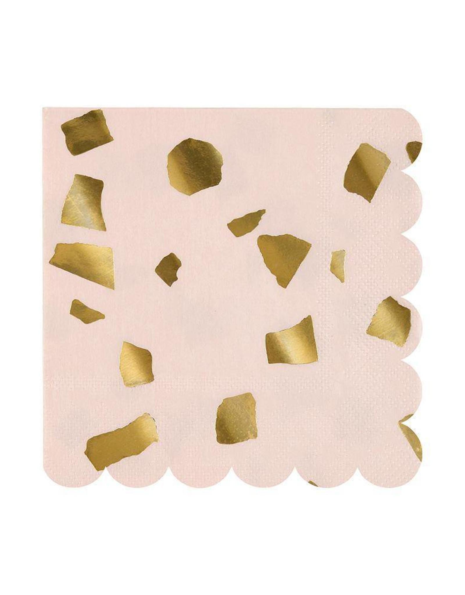 Meri Meri Pink Confetti Small Napkins