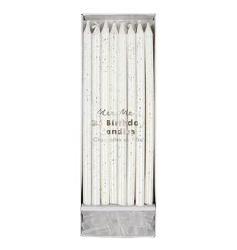 Meri Meri Birthday Candles - Silver Glitter