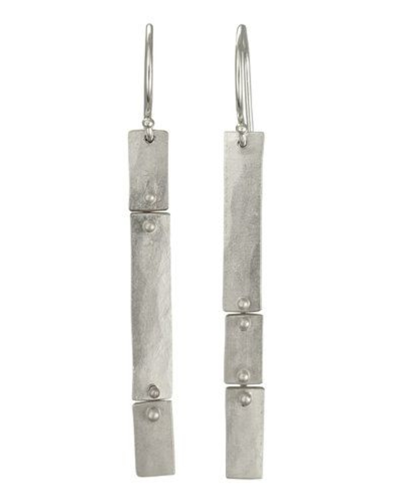 Sarah Swell Short Slim Column Earrings