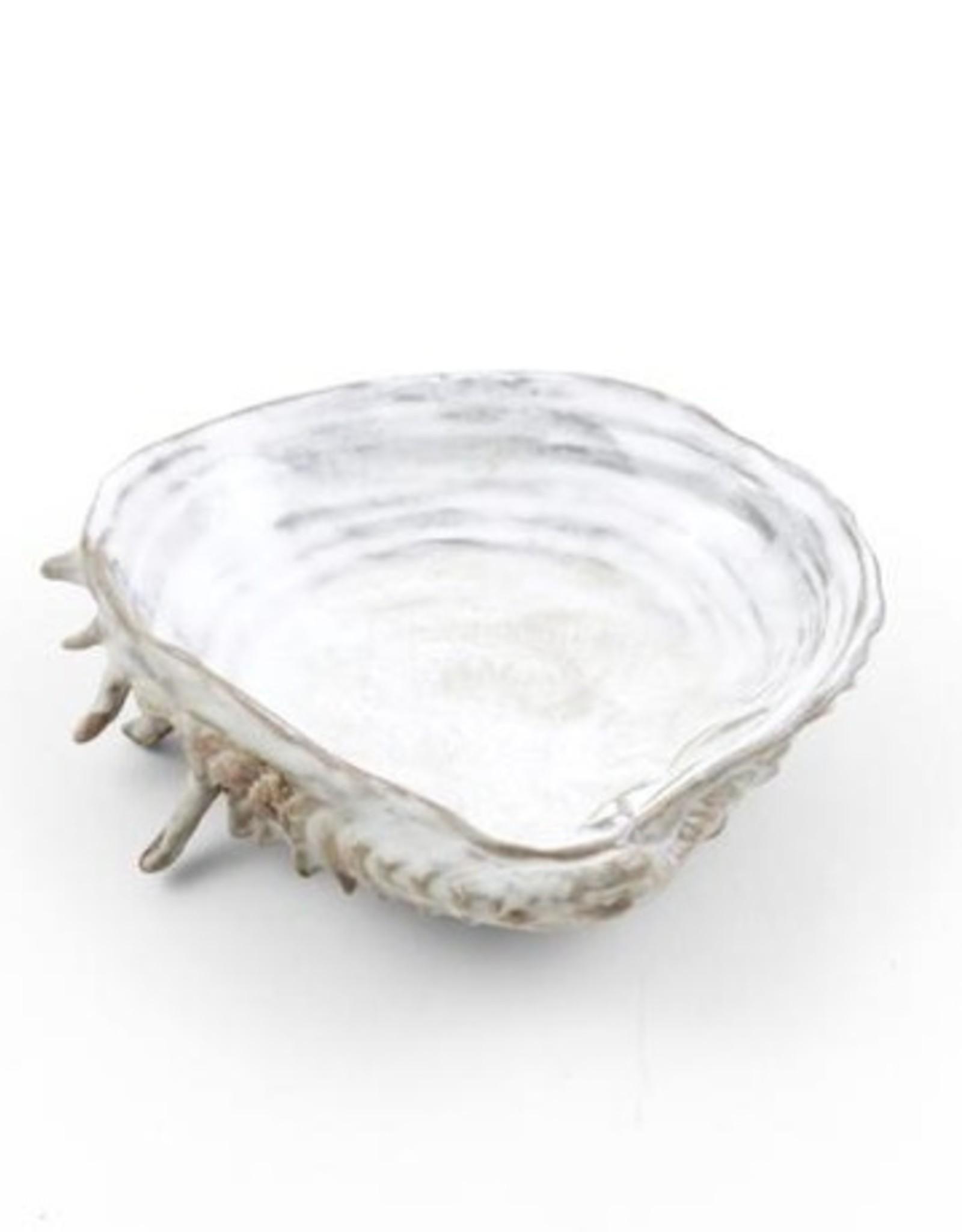Yarnnakarn Channeled Clam Shell Dish