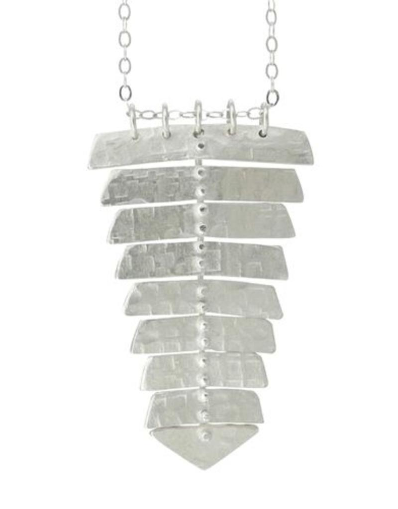 Sarah Swell Fishbone Single Necklace