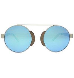 Analog Watch Co. Arlo - Walnut + Revo Lens (Blue)