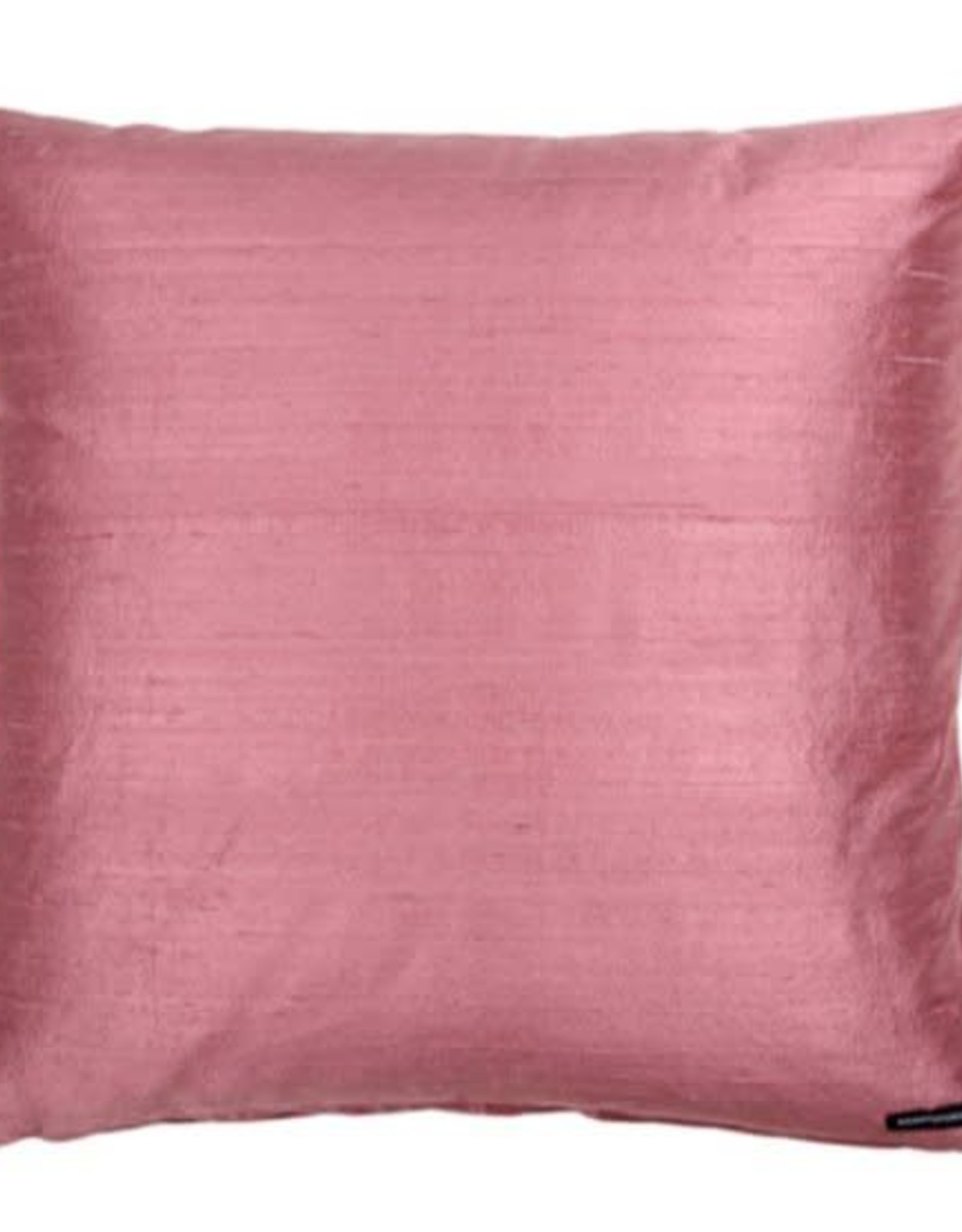 Eight Mood Dupione Square Pillow - Orchid