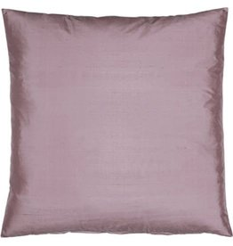Eight Mood Dupione Square Pillow - Mauve