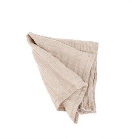 Rustic Linen Napkin - Blush