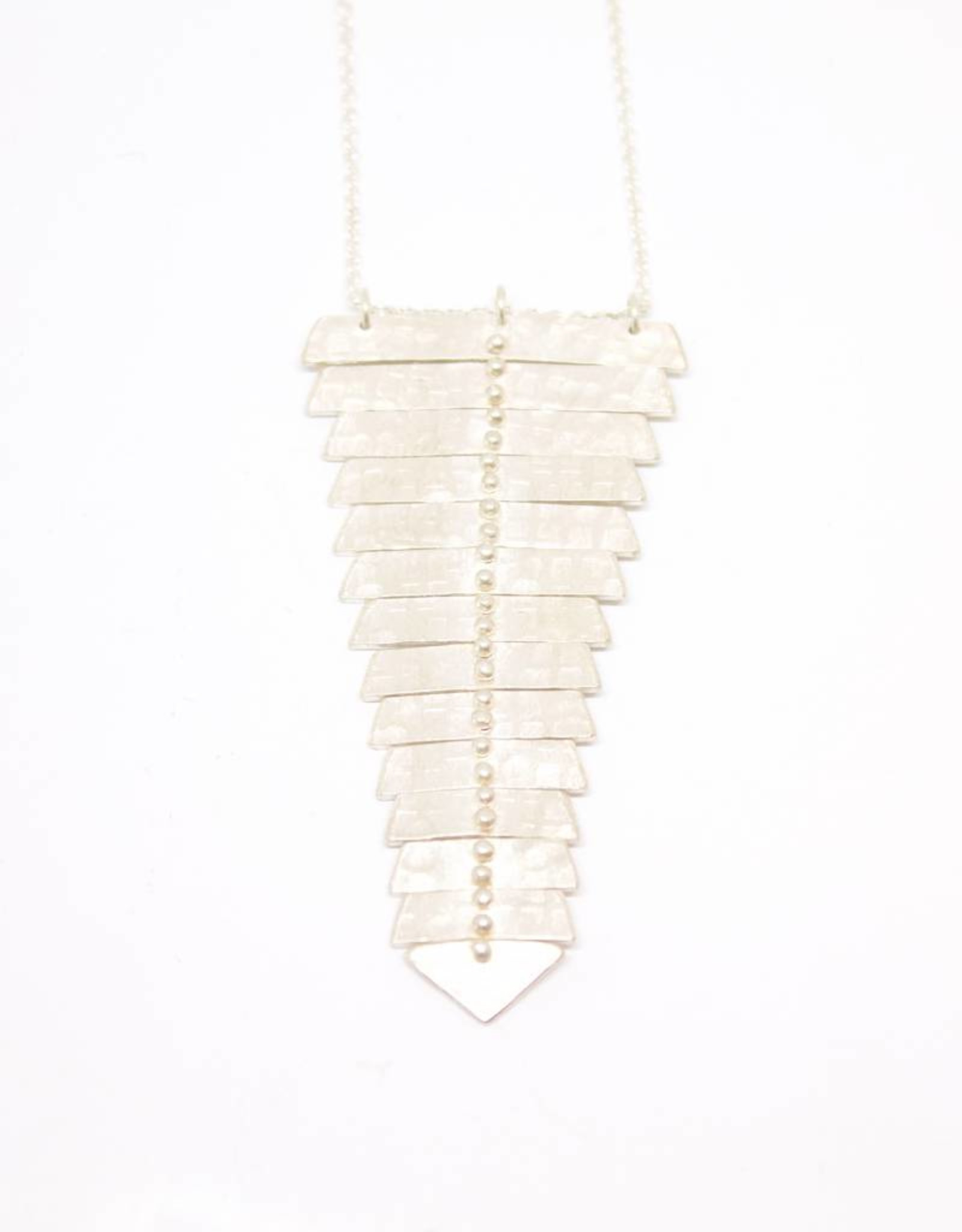 Sarah Swell Fishbone Single Necklace XL