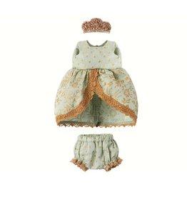 Maileg Micro + Mouse Princess Dress - Mint