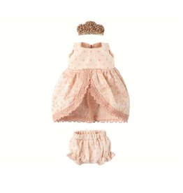 Maileg Micro + Mouse Princess Dress - Rose