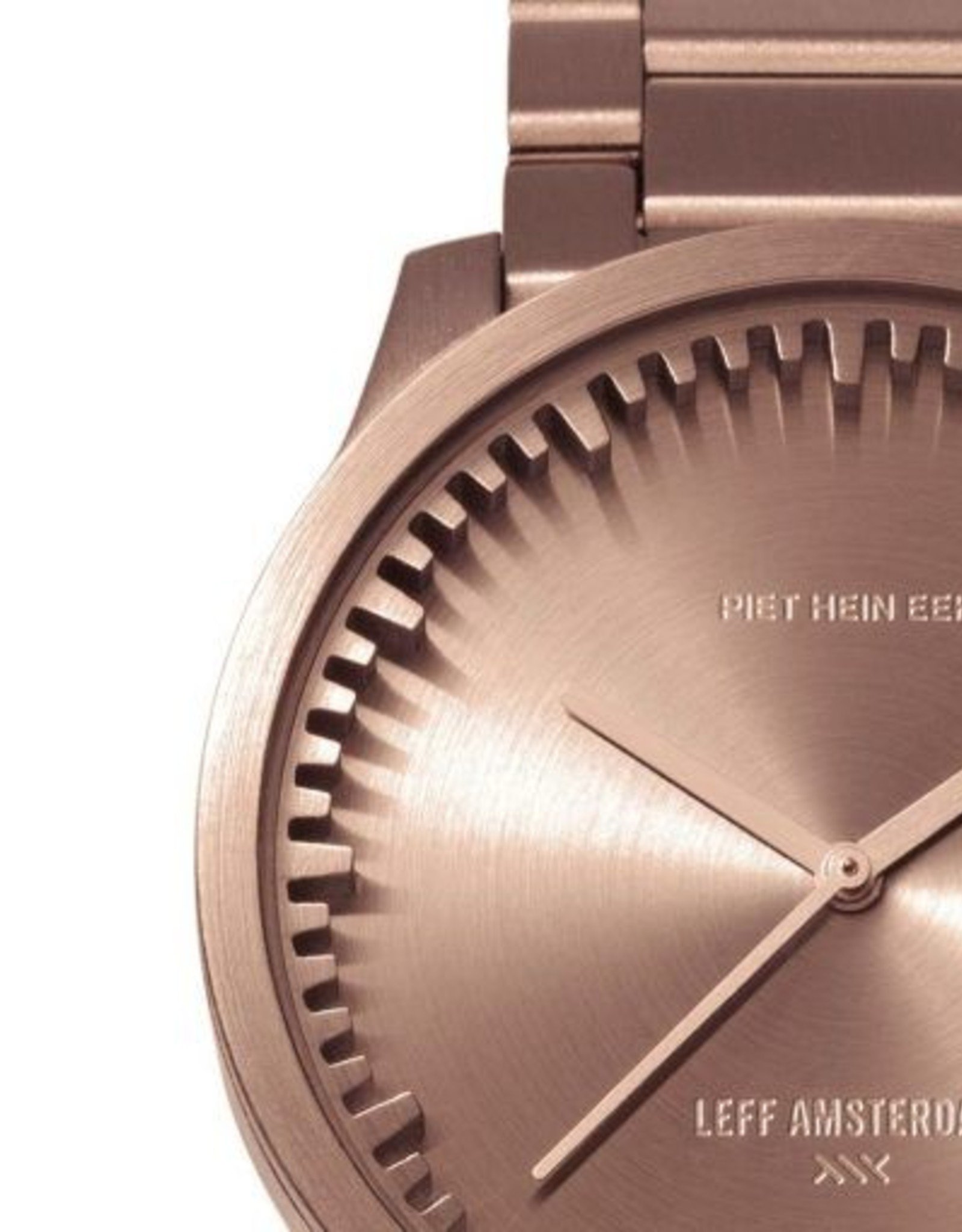 Leff Amsterdam Tube Watch S - Rose Gold 38mm Case