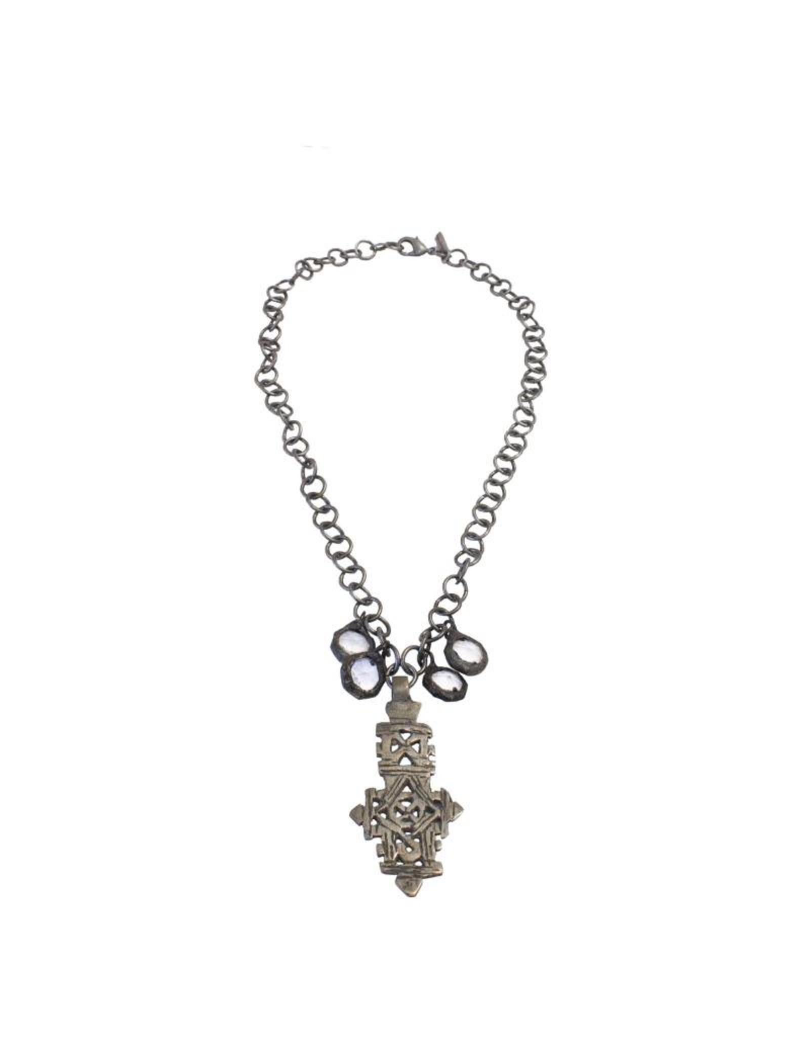 Jamie Dietrich Coptic Cross Necklace