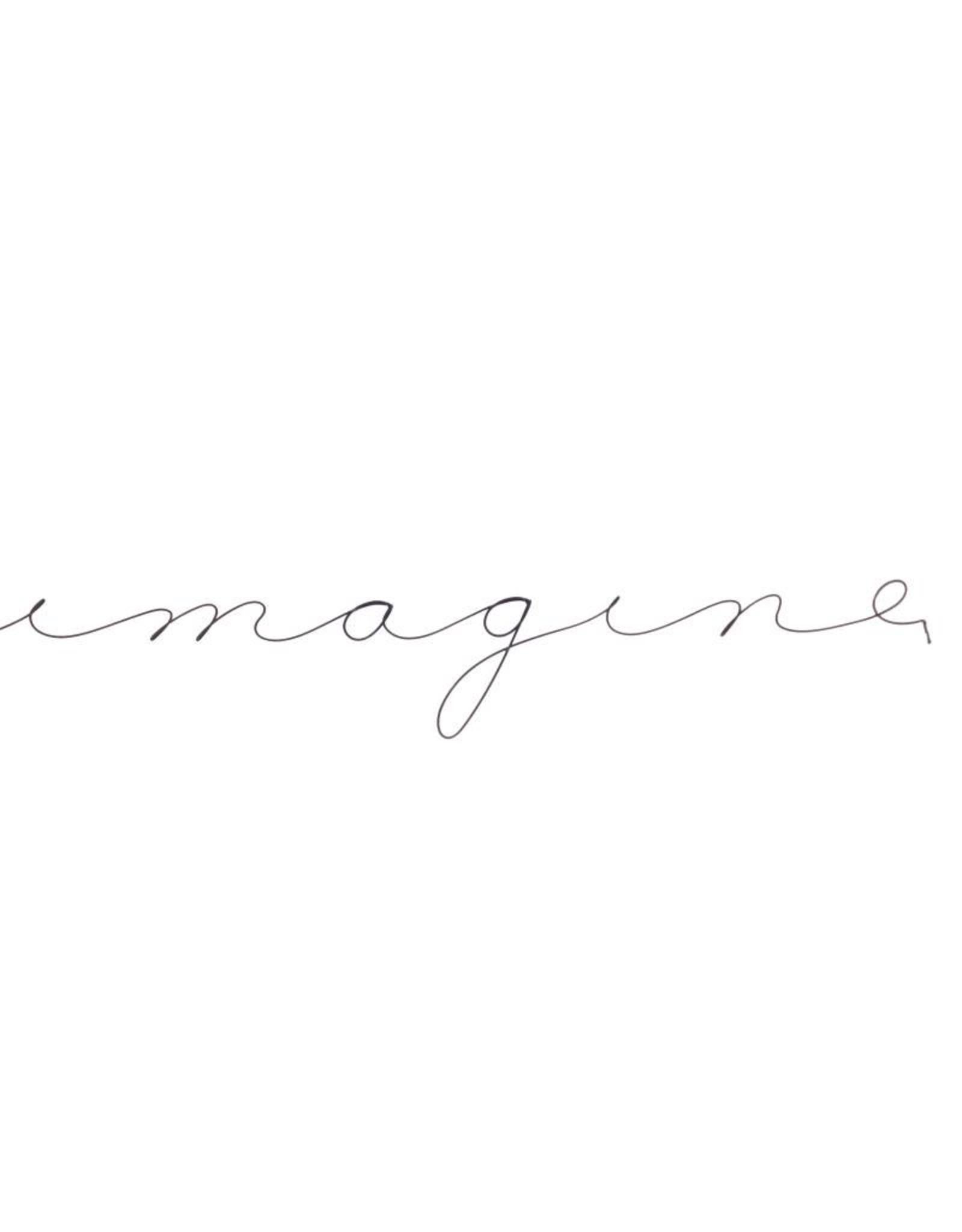 Gauge NYC 'imagine' Wire Word Poetic