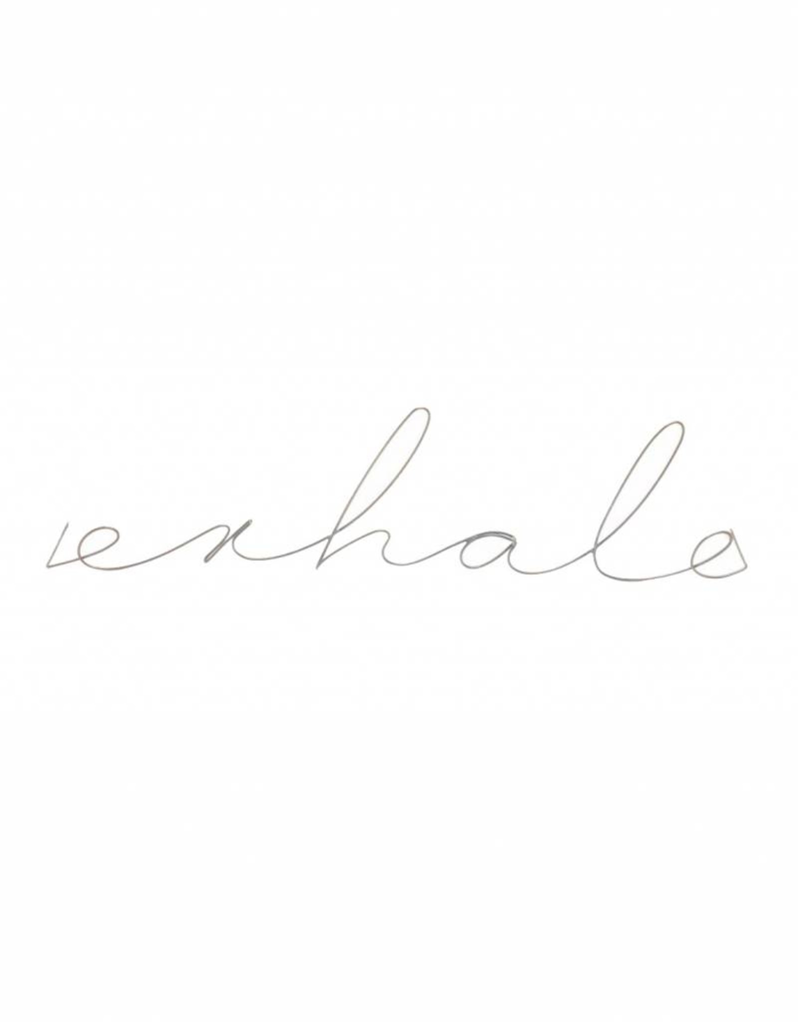 Gauge NYC 'exhale' Wire Word Poetic