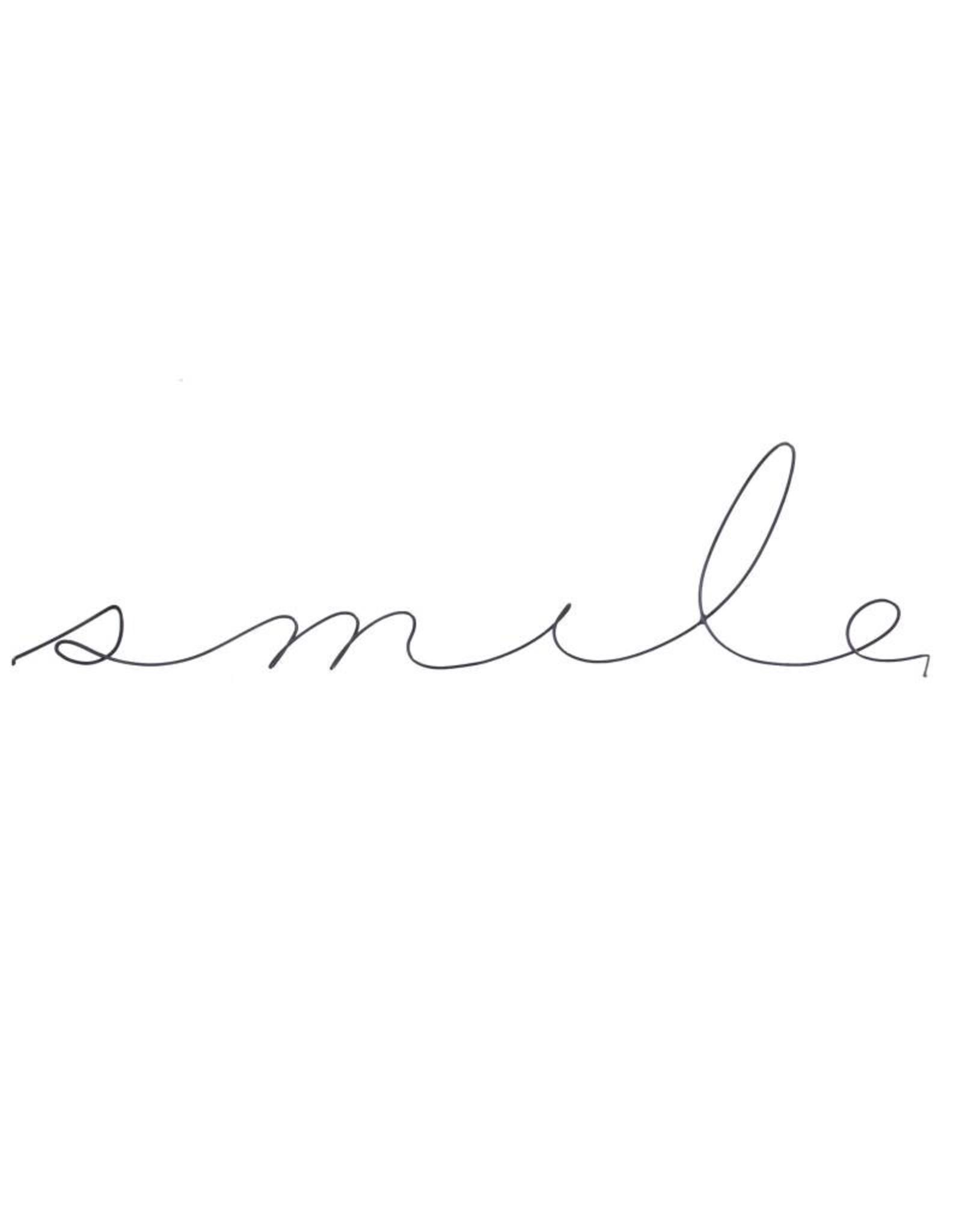Gauge NYC 'smile' Wire Word Poetic