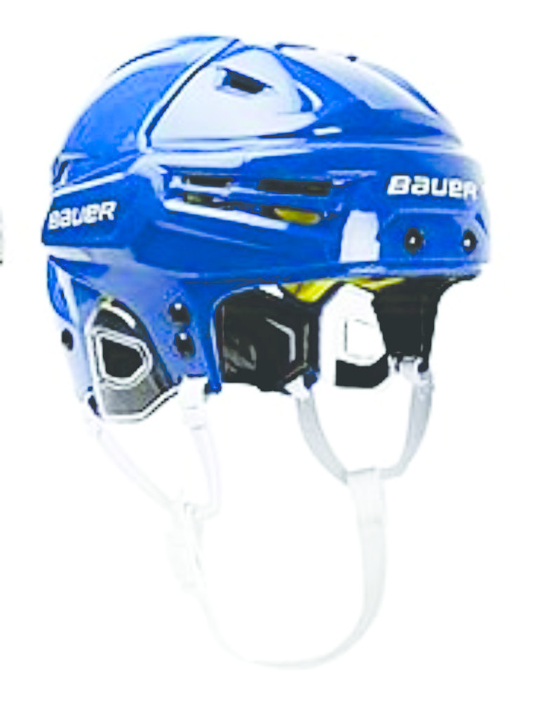 BAUER BAUER IMS 5.0 HELMET, BLUE, MD