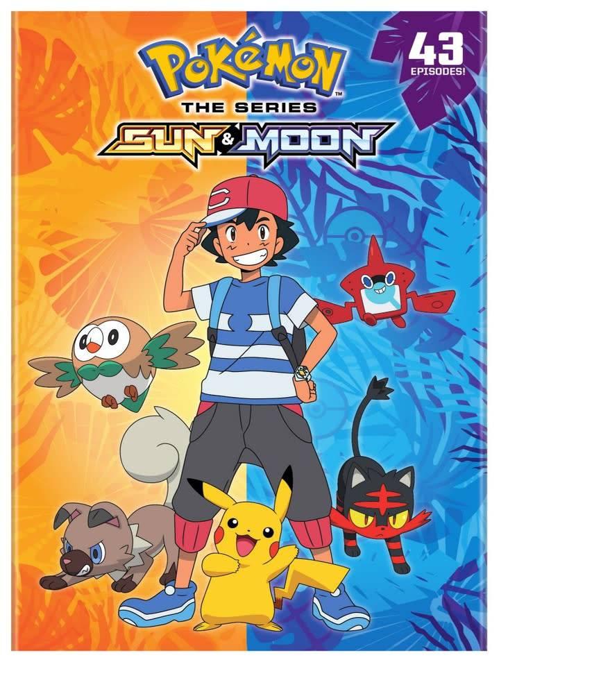 Viz Media Pokemon Sun and Moon (Season 20) DVD